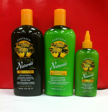 FANTASIA TEA TREE NATURALS ALOE ENRICHED HAIRCARE PRODUCT